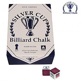 Silver Cup Burgundy Chalk, 144 piece/gross
