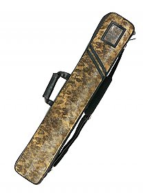 3B 6S, plus for Jump Cue, Brown Pattern Soft Bag