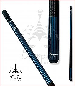 Scorpion SCO26 Blue Pool Cue