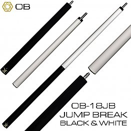 OB Break cue Black & White, OB Break shaft